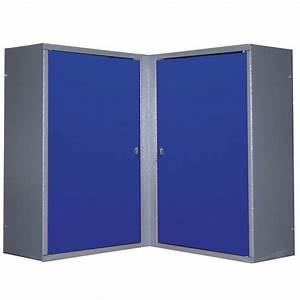 Cube De Rangement Leroy Merlin : armoire de rangement en m tal bleu kupper leroy merlin ~ Dailycaller-alerts.com Idées de Décoration