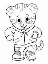 Tiger Daniel Coloring Pages Printable Neighborhood Colouring Drawing Print Tigers Clipart Pdf Lily Getcolorings Getdrawings Boone Compound Microscope Light Prince sketch template