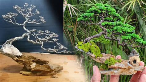 #ต้นไม้ประดิษฐ์#บอนไซบ้านทุ่ง #Handmade How to make ...