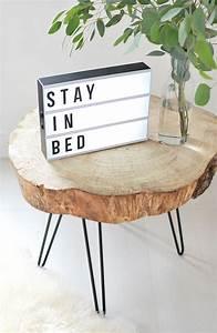 Rondin De Bois Table : 1001 id es table en rondin de bois un tronc peut en cach un autre ~ Teatrodelosmanantiales.com Idées de Décoration
