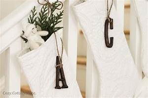 stocking letters from michaels christmas pinterest With stocking letter pins