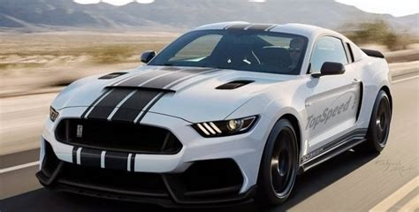 The Shelby Gt350r Mustang By Topspeed Looks Incredible