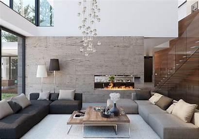 Interior Modern Indoor Pool Elegant Living Swimming