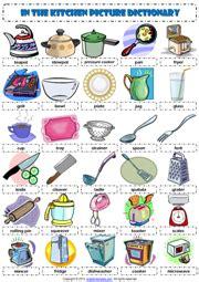 cooking utensils  tools worksheet  bcause