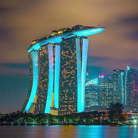 Marina Bay Sands Singapore Photograph Peeramaytha