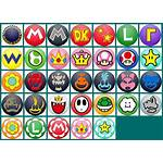 Mario Kart Tour Icons Resource Cup Spriters