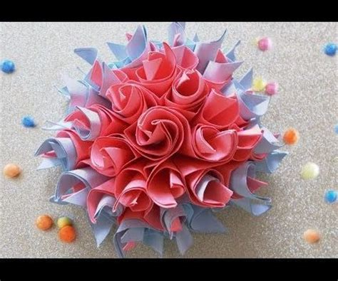 diy paper craftseasy origami paper flowers  steps