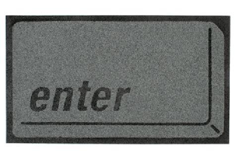 Enter Key Doormat by Enter Button Doormat Gadgetking