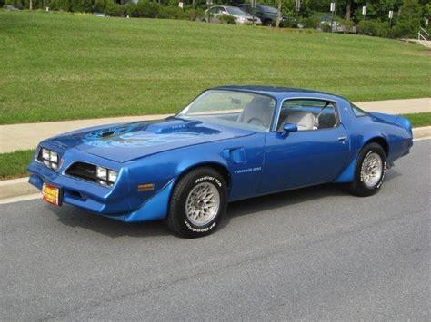 1978 Blue Trans Am by 1978 Pontiac Trans Am 1978 Pontiac Trans Am Ws6 And W72