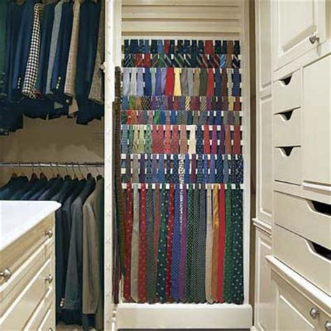 tie rack dressing closet design this house