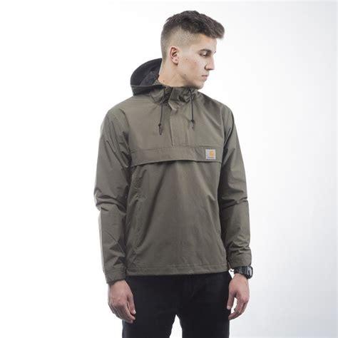 carhartt wip jacket nimbus pullover leaf bludshopcom