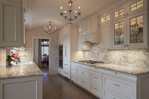 White Kitchen Countertop - top 25 best white granite colors for kitchen countertops