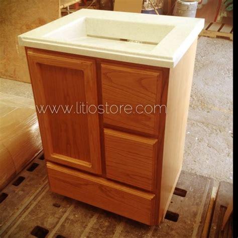 muebles corian mueble de ba 241 o encino americano con cubierta de corian
