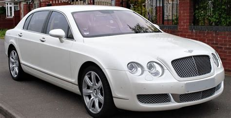 white bentley flying spur wedding cars london phantom car hire bentley car hire