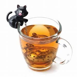 Mug Infuseur Thé : boule th infuseur inox joie poisson chat la casserolerie tea balls pinterest tea time ~ Teatrodelosmanantiales.com Idées de Décoration