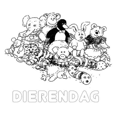 Kleurplaat Dierendag by Leuk Voor Dierendag 0018