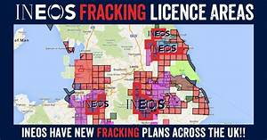 INEOS Fracking Plans Revealed – 396 Wells Per Licence ...