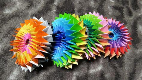 折り紙 万華鏡 作り方