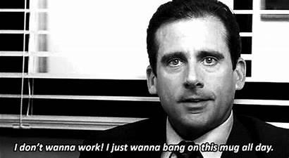 Scott Michael Quotes Distracted Office Job Bang