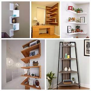 15, Impressive, Corner, Wall, Shelves