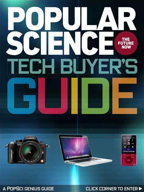 Popular Science  Tech Buyer's Guide Magazine (digital