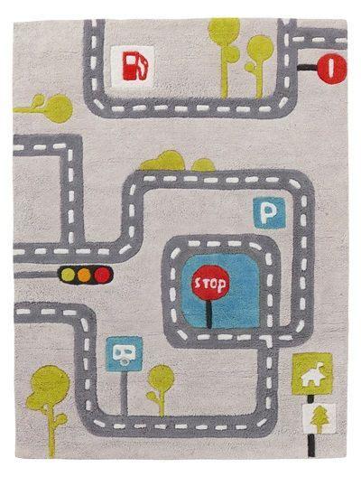 Kinderzimmer Teppich Junge Auto by Teppich Mit Stra 223 Enmotiv Kinderzimmer F 252 R Kleine