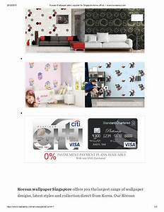 Korean wallpaper sales, supplier for singapore home ...