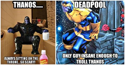 Thanos Memes - 28 funny thanos memes that don t make him so dark and terrifying best of comic books