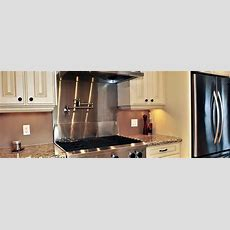 Stainless Steel Kitchen Backsplash Panels