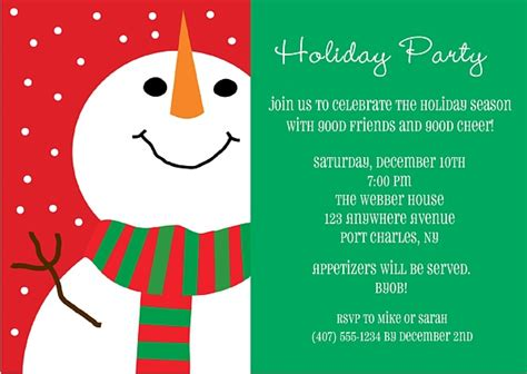 Snowman Holiday Christmas Party Invitations Expanding Coffee Table Pier One Imports Oak End Tables And Foosball Printing Books Home Goods Replacement Glass Fish Aquarium