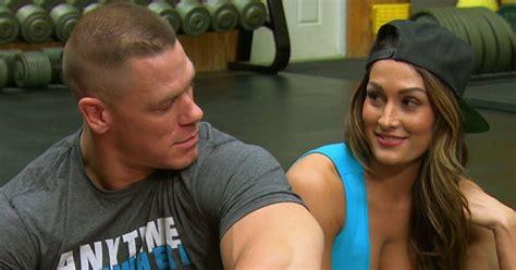 wrestling superstar john cena   girlfriend