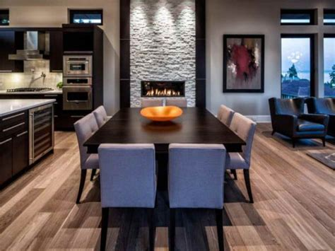 attractive dining room fireplace ideas  pleasant