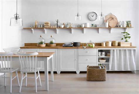 meubles de cuisine blanc buffet de cuisine bois blanc