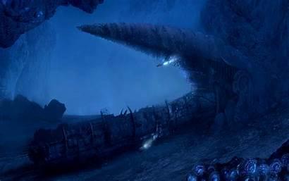 Ocean Deep Wallpapers Abyss Sea Fantasy Desktop