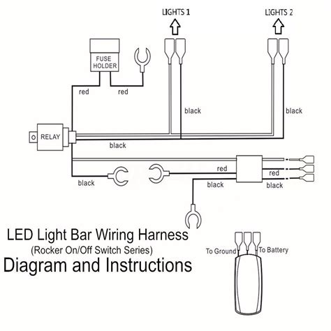 Led Light Bar Wiring Harness Diagram Stream