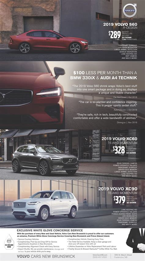 Volvo Incentives by Volvo Offers And Incentives Volvo Cars New Brunswick In