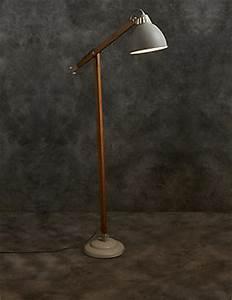 Toby floor lamp for Modern tripod floor lamp marks and spencer