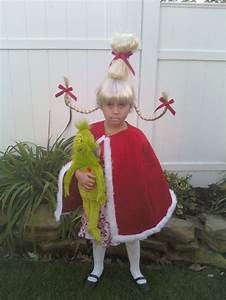 Cindy Lou Who from the Grinch.... I made the hair and my ...