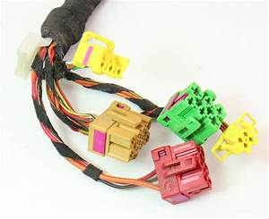 Lh Front Power Heated Seat Wiring Plugs Pigtail Vw Jetta