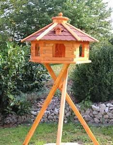 Vogelhaus Mit Ständer : xxl vogelhaus mit licht aus holz ~ Whattoseeinmadrid.com Haus und Dekorationen