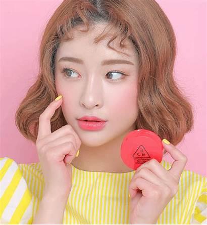 Blush Korean Makeup Hair Kpop Trend