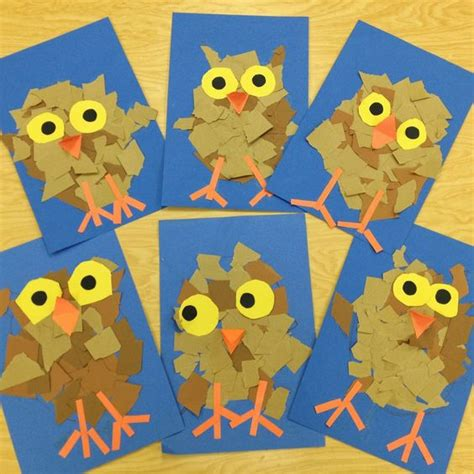 preschool art project ideas owl activities for 3 171 preschool and homeschool 886