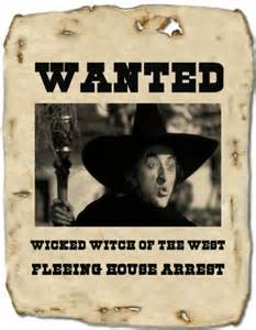 Disney Villain Wanted Signs