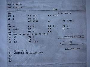 Carte Grise Barrée 2 Fois : mehari club de france afficher le sujet carte grise ~ Gottalentnigeria.com Avis de Voitures