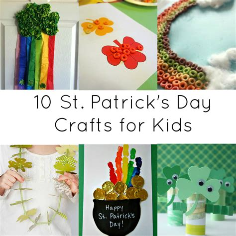 activities for 10 st day crafts 718 | Activites for Kids 10 St. Patricks Day Crafts