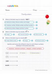 6th Grade Number Theory Worksheets Pdf