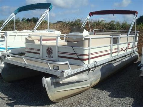 1997 Crest Pontoon Boat by Used 1997 Crest Pontoon Ii W 75hp Mercury Hunstville Oh