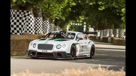 Bentley Race Car by Bentley Debuts Its New Continental Gt3 Race Car
