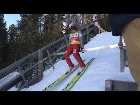 Пры́жкиналы́жах ( с трампли́на ). Skispringen - YouTube