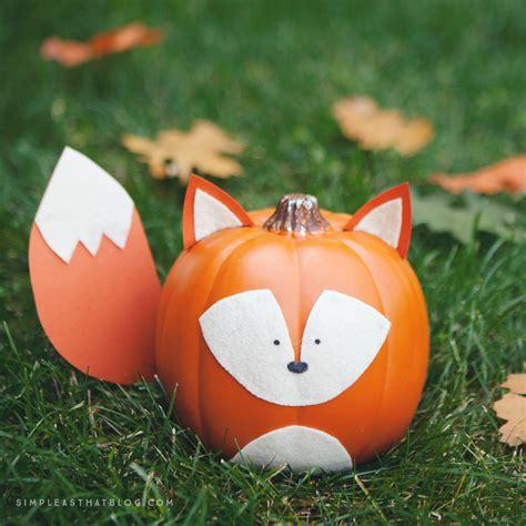 pumpkins decorations woodland creature no carve pumpkins